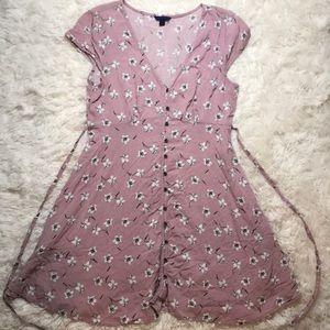 mauve summer dress